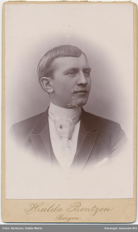 Portrett, Hemming Lauritz Brodtkorb, 1892