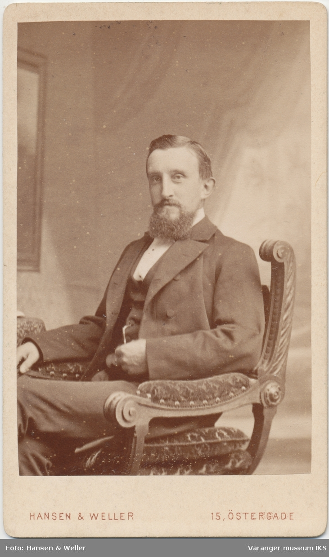 Portrett, Fritz Anton Brodtkorb