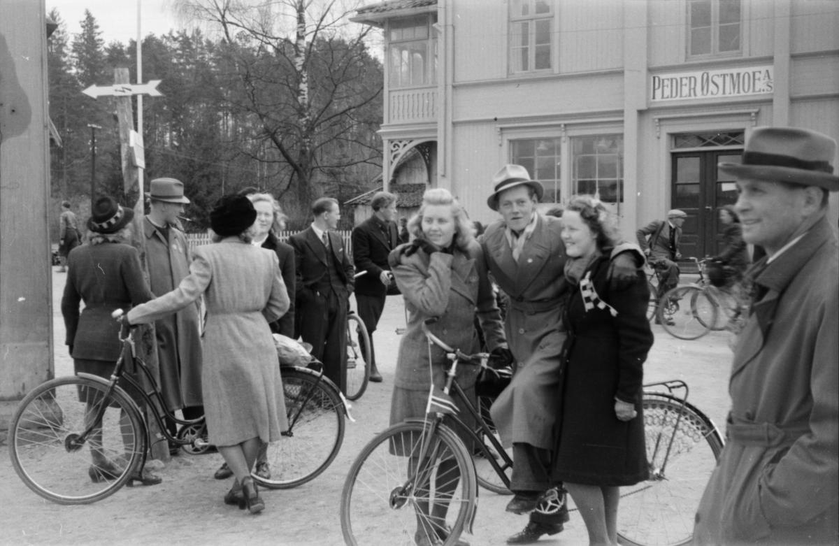 Østmoehjørnet 17. mai 1945