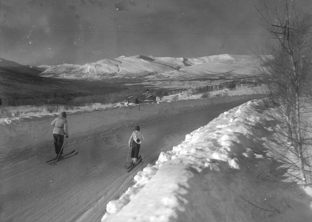 Vinterstemning ved Oppdal