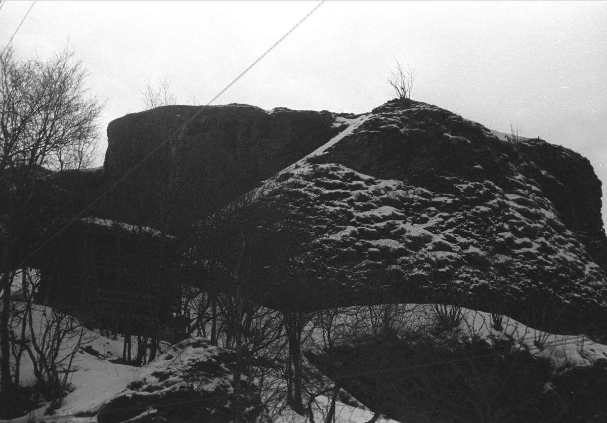 Kvernhuset og borgen på Trøndelag Folkemuseum