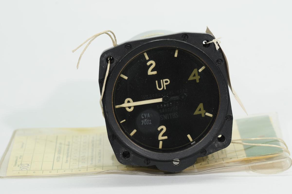 Variometer 29RC/PC, graderad 0-4 up, 0-4 ned. För Fpl. TP 52.