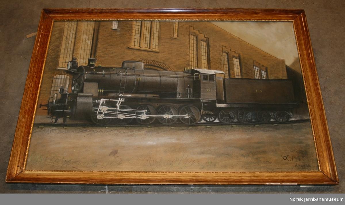 Damplokomotiv nr 166