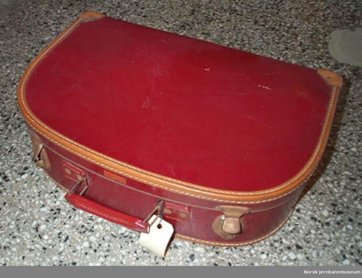 Reisekoffert med buet lokk