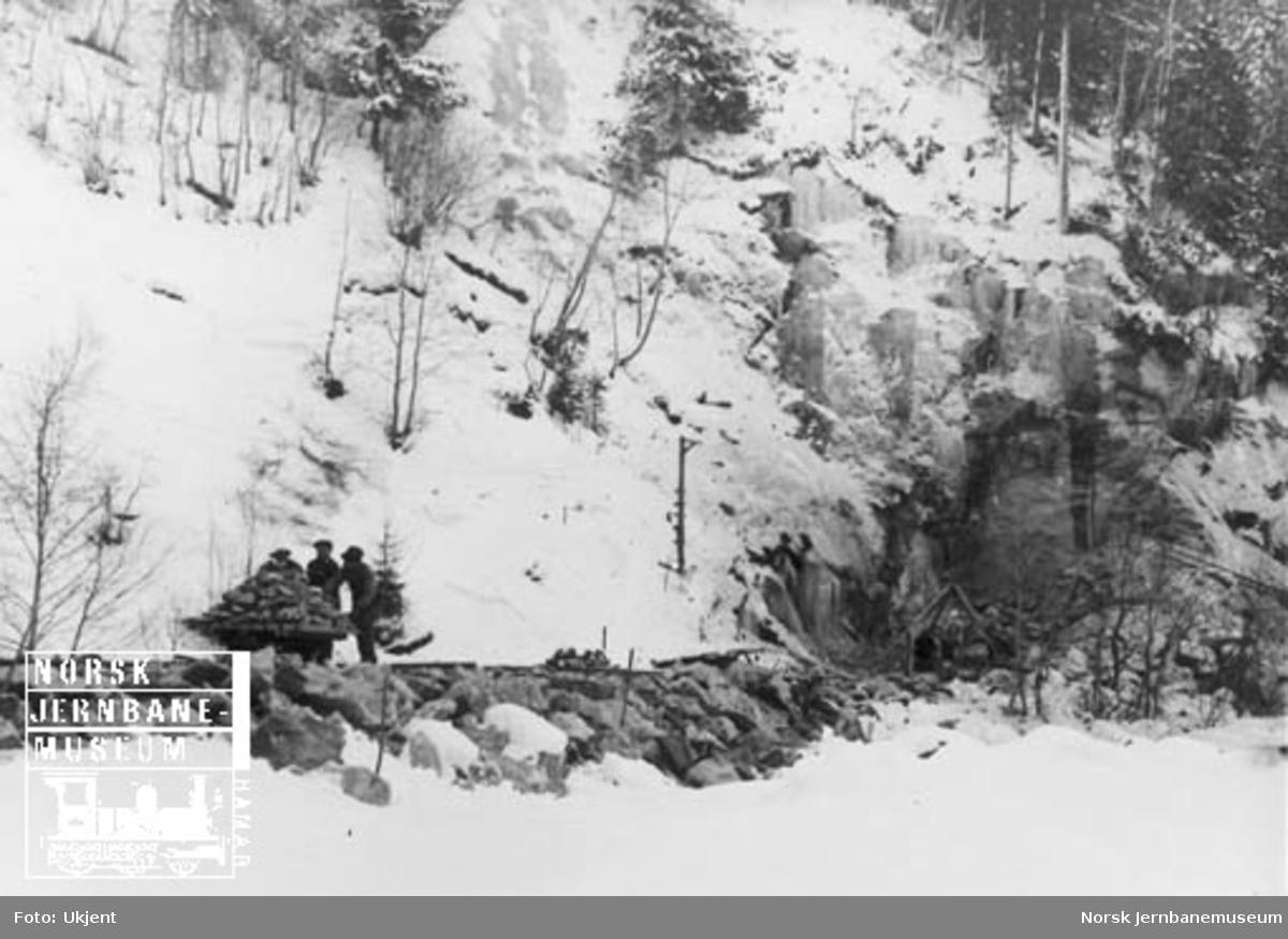 """Anlegg av """"Sverre Moe-tunnel"""" ved Røttum, nordre innslag"""