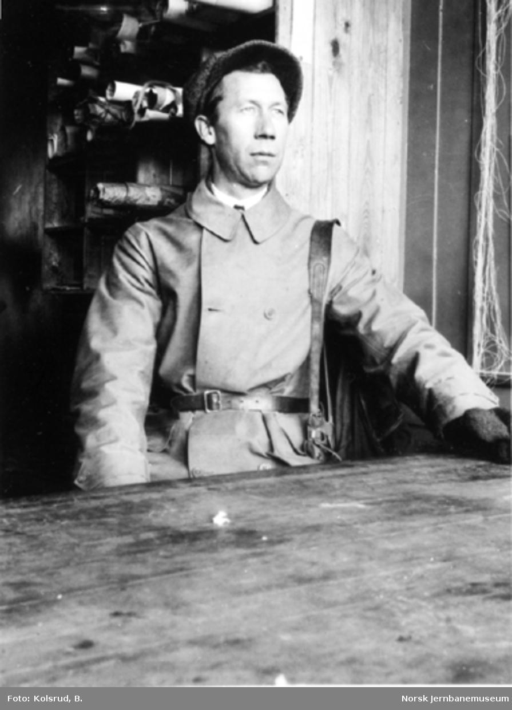 Brukontrolløren, ingeniør Rolf Thoresen
