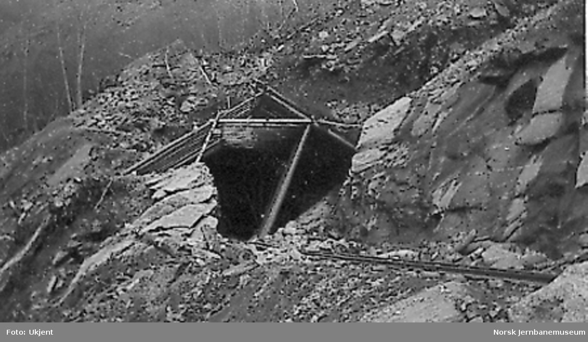 Tunnelinnslaget til Stavem tunnel, vendetunnelen