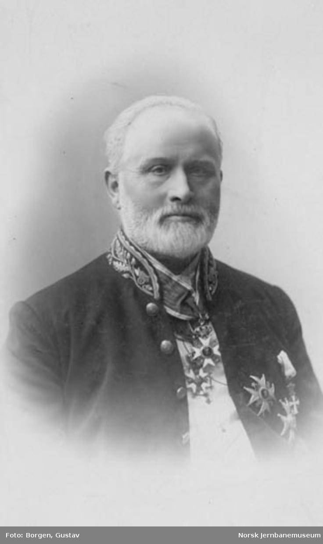 Portrett av generaldirektør Lorentz Henrik Müller Segelcke