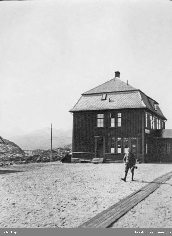 Bjørnfjell (gamle) stasjonsbygning