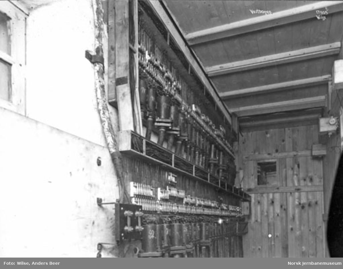 Sikringsanlegg Oslo V : stillverket