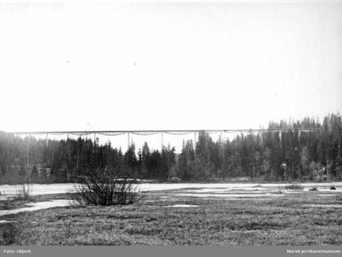 Lysedal viadukt før ombyggingen i 1929