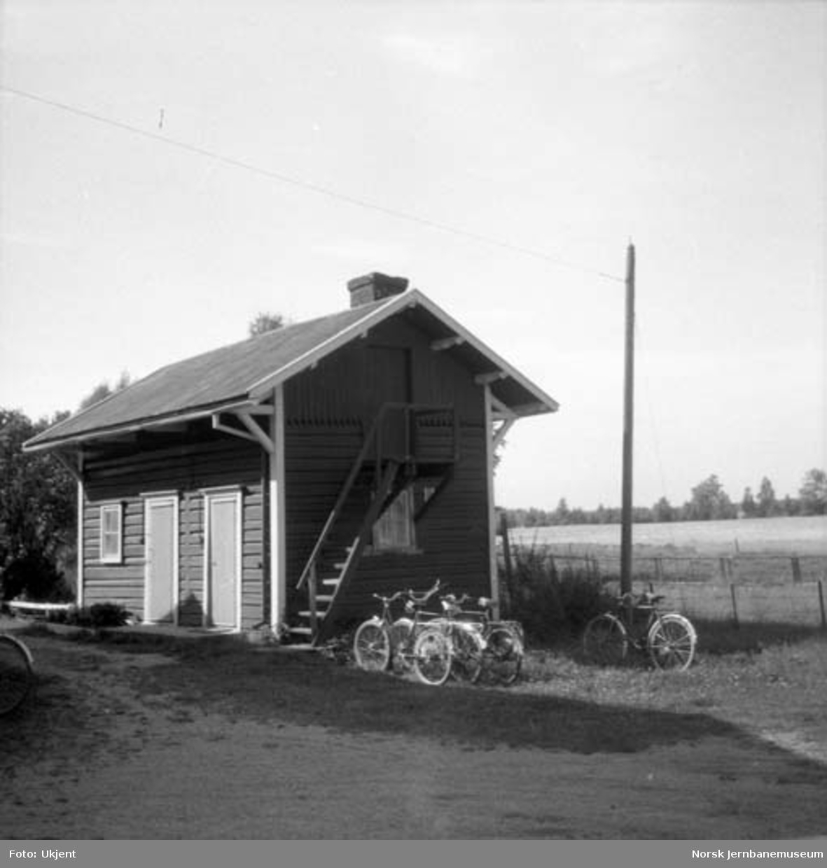 Hørsand stasjon : uthuset