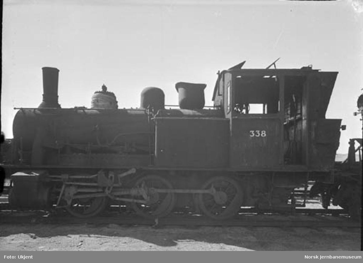 Damplokomotiv type 25b nr. 338