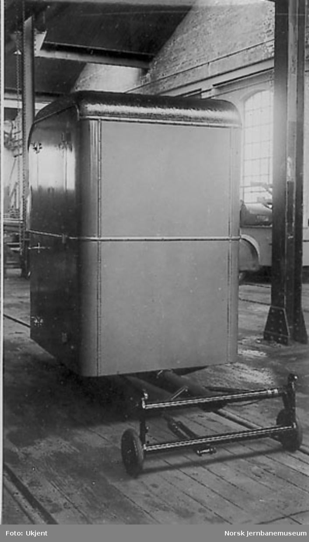 """Ford A varebil med tilhenger, system """"Wyta"""", til A. Hillestad farveri & renseri, Oslo, A-18338"""