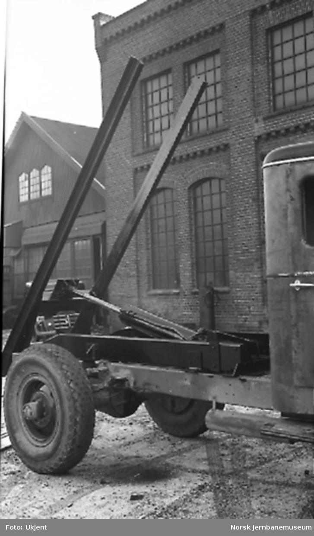 Lastebil med hydraulisk tipp (St. Paul)