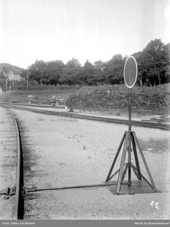 Sporsperre på Kristiansand stasjon