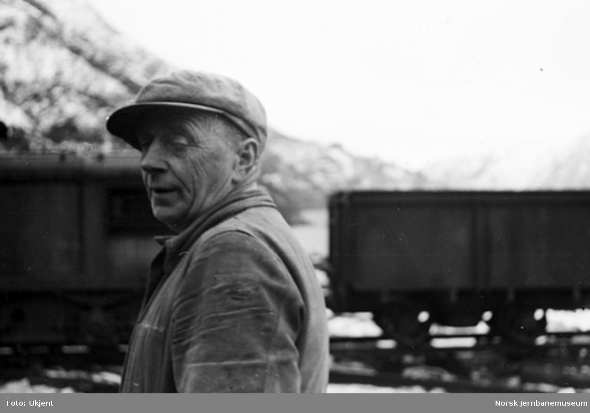 Karl Skulstad, trolig ved Helldal omformerstasjon