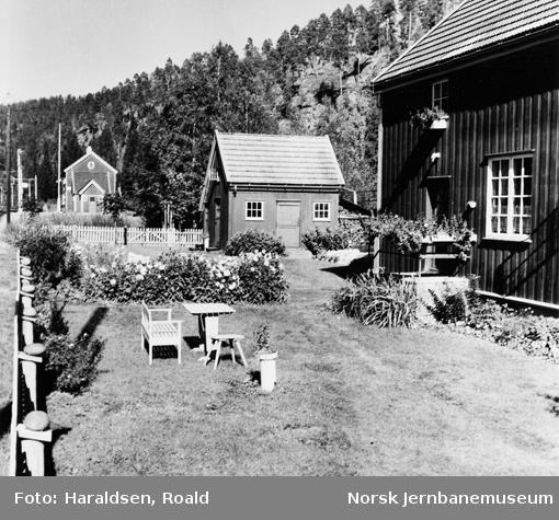 Hagen til banevokter K. Kristoffersen på Valebø