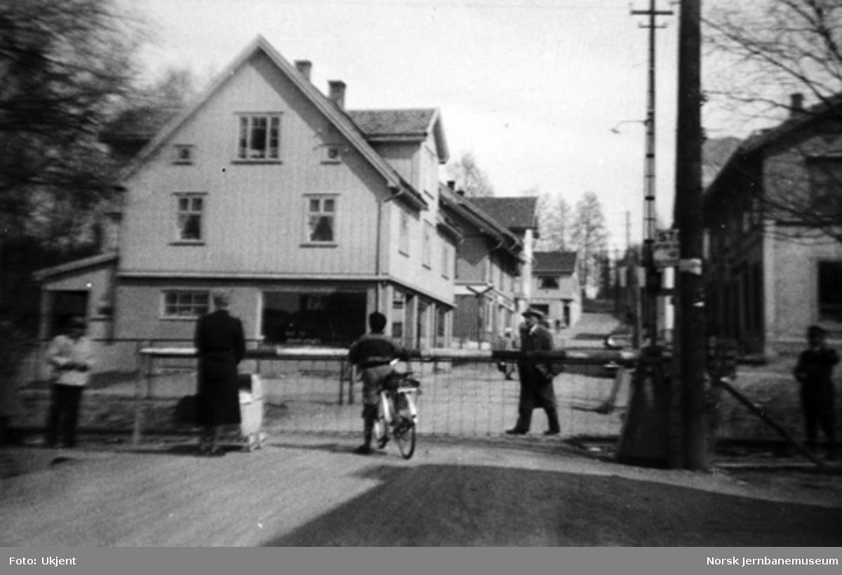 Planovergang på Raufoss