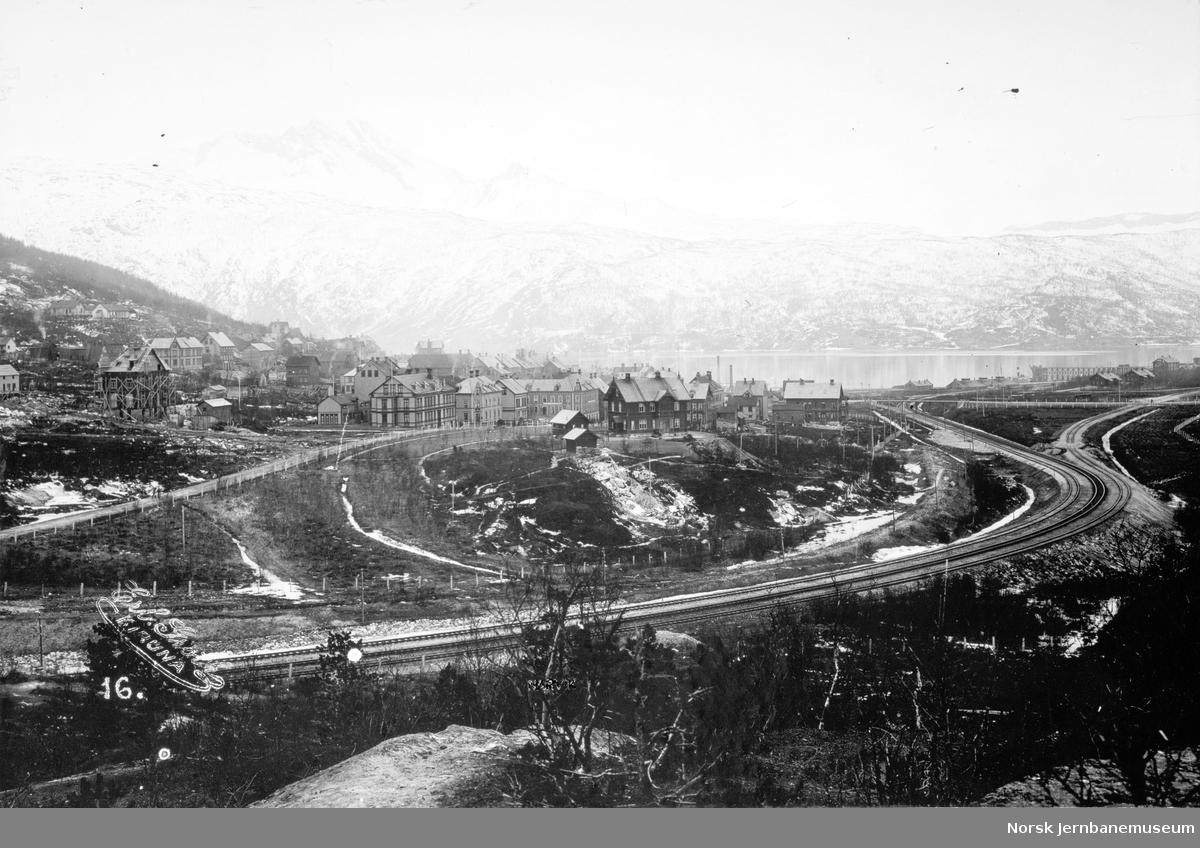 Øvre Oscarsborg i Narvik