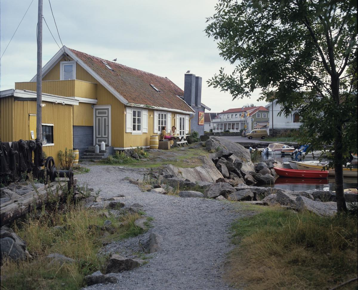 Rekefabrikken i Nevlunghavn. Illustrasjonsbilde fra Bonytt 1987.