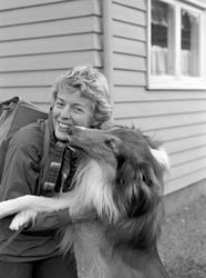 Serie bilder av Inger Bjørnbakken.