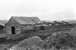 Fra Vadsø september 1968. Bildet er tatt norøst i ytrebyen.
