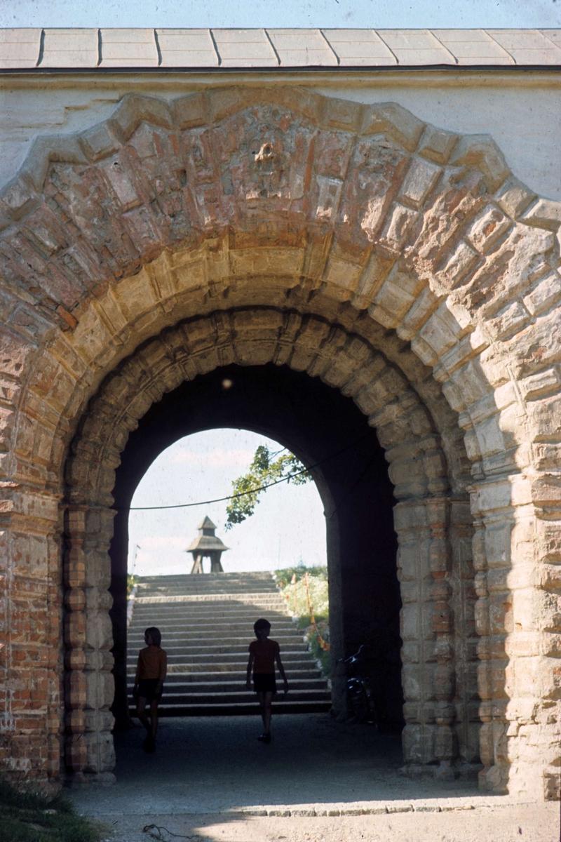 Kung Jans port vid Uppsala slott, Uppsala 1973