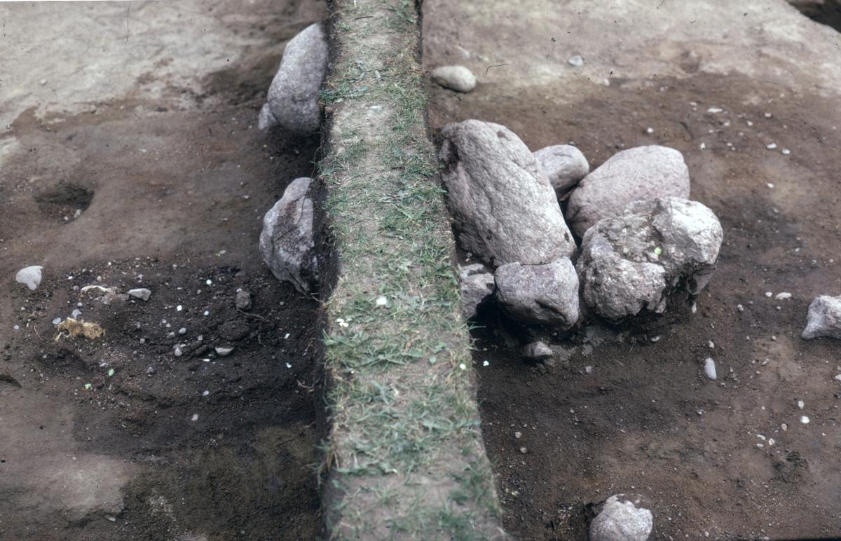 Prästgården, A9 - Arkeologi Gamla Uppsala 1973