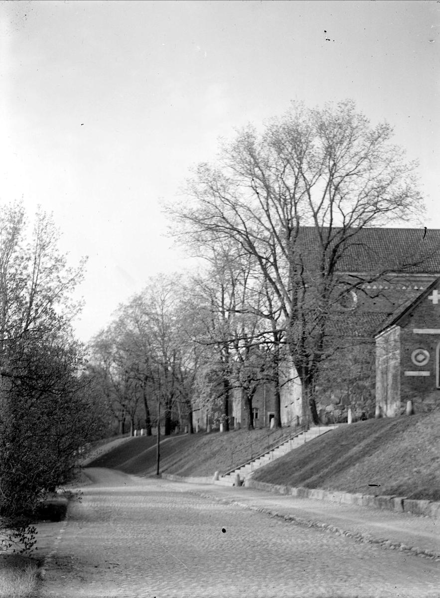 Helga Trefaldighets kyrka från Riddartorget, Uppsala