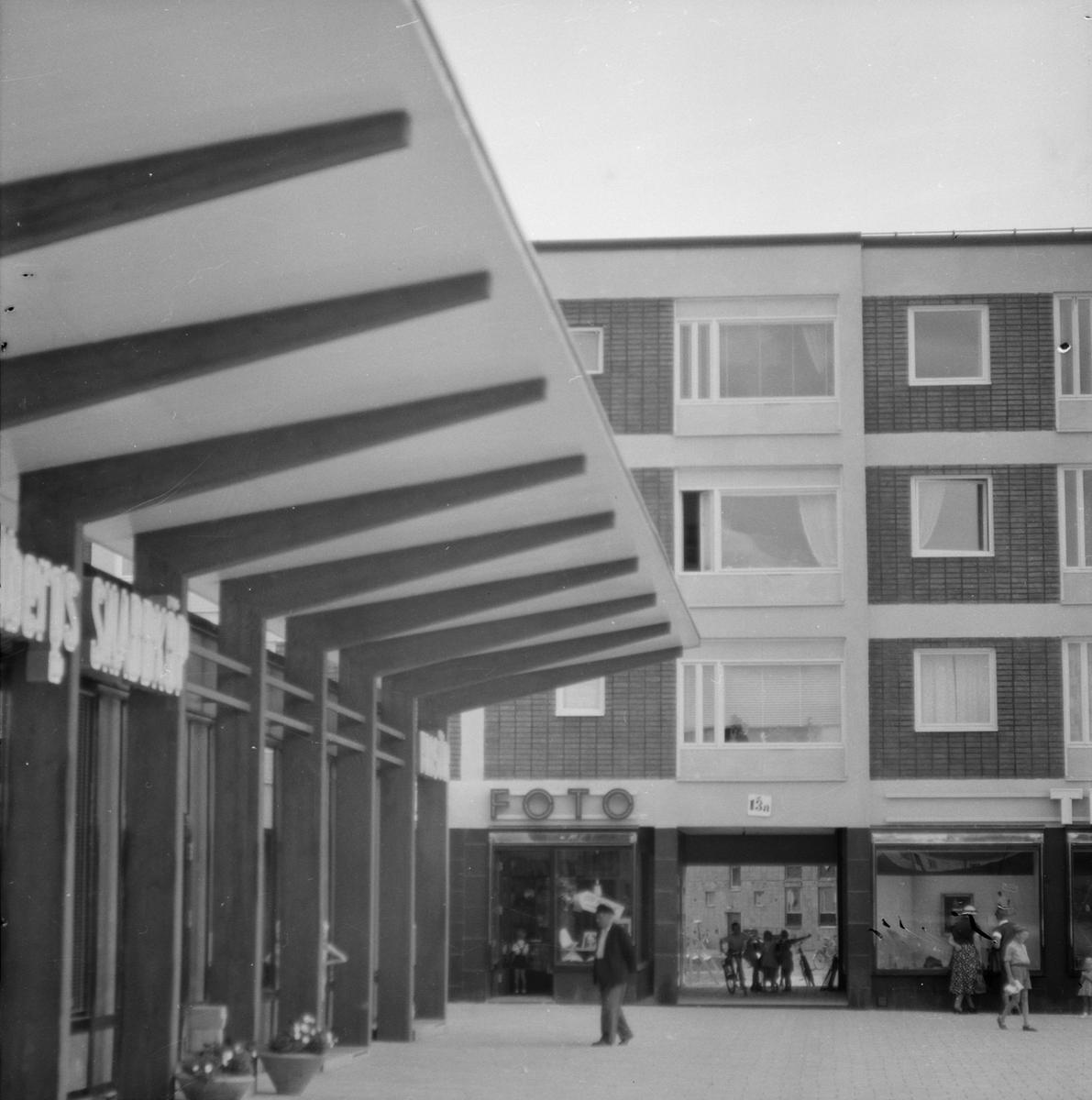 Brantingstorget, Sala backe i Uppsala