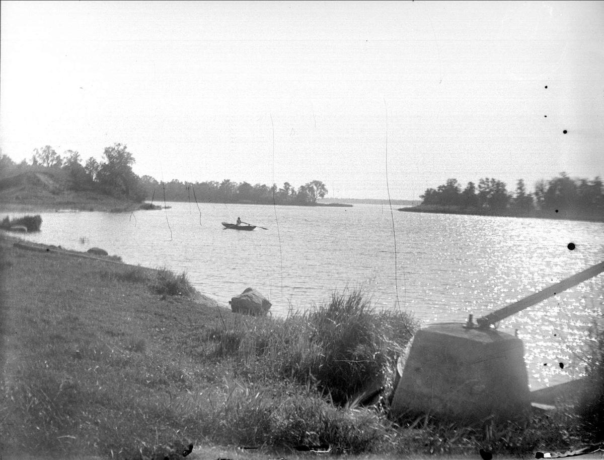 Svinnegarnsviken vid Haga, Svinnegarns socken, Uppland 1934