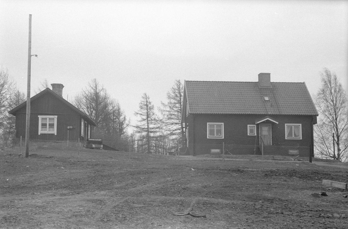 Brygghus, drängkammare, jordkällare och mangårdsbyggnad, Husby 2:1, Husby, Lena socken, Uppland 1977