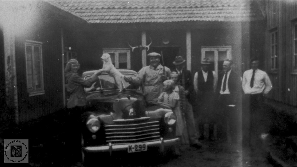 Ny bil på Roland, Bjelland.