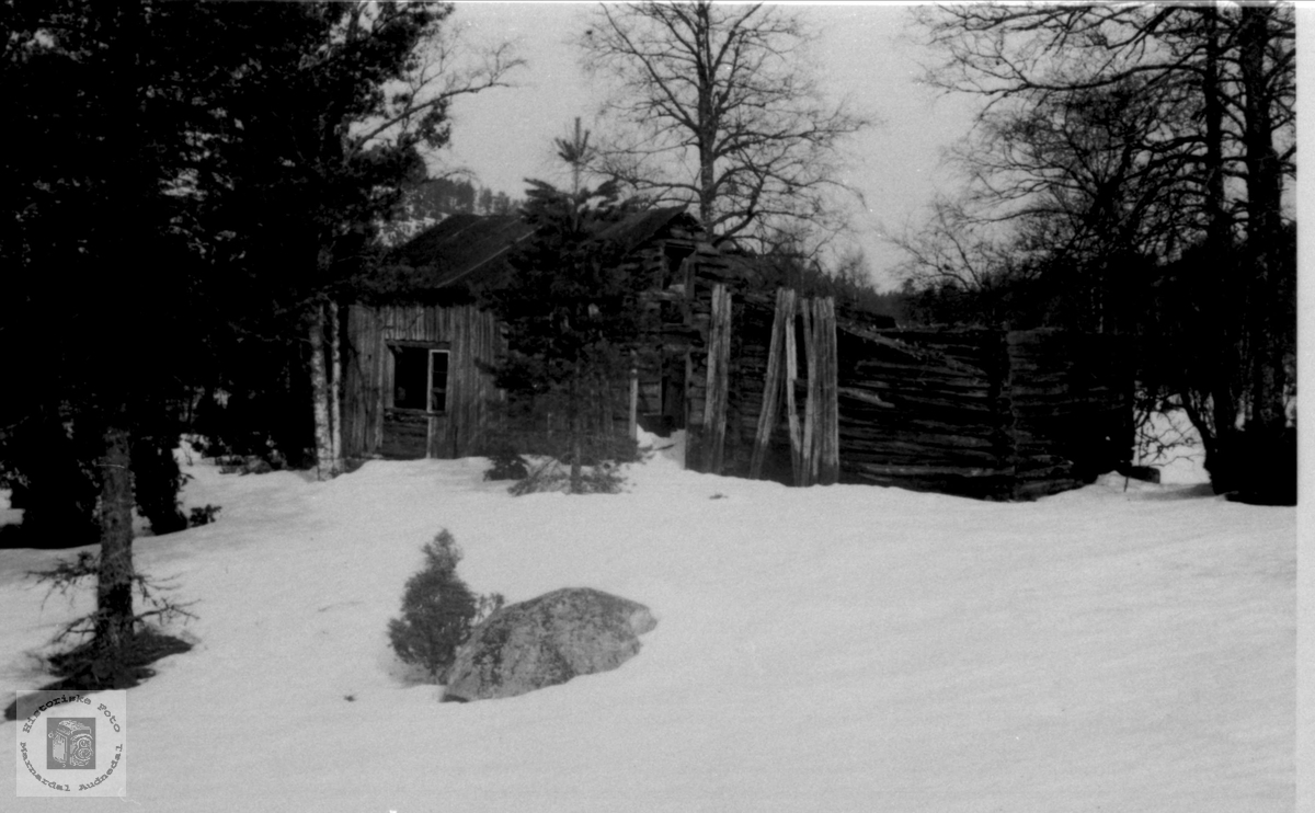 Husmannsplass i Holtan, Bjelland.