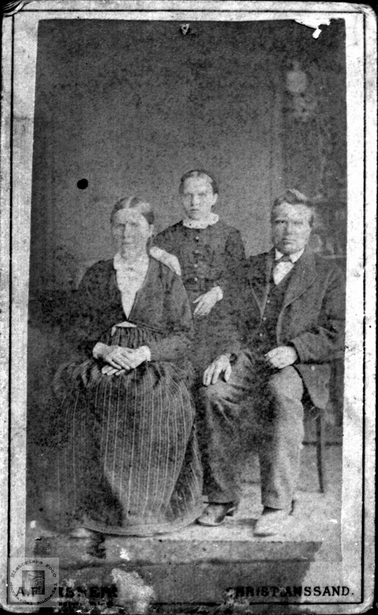 Familiebilde Thore T. Foss.