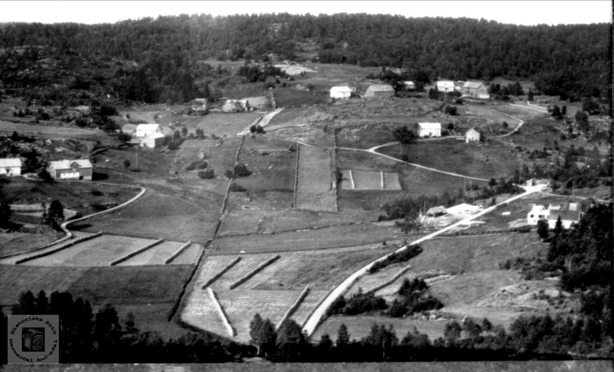 Tislandgarden i Laudal.