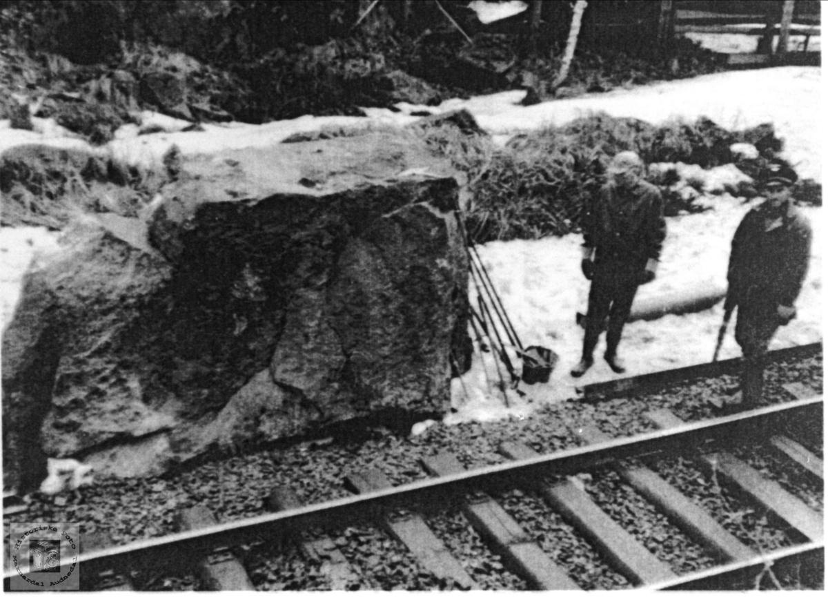 Jernbanearbeidere Øyslebø.