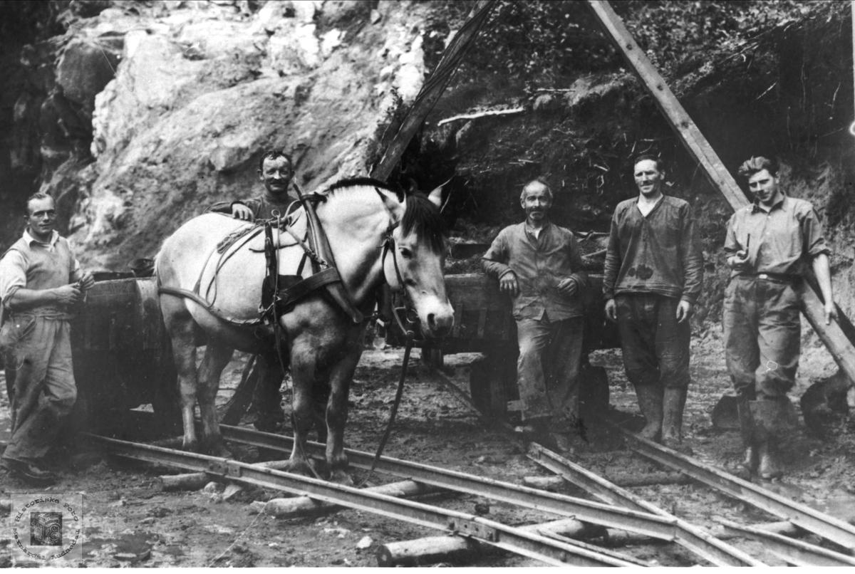 Jernbanearbeid på Sørlandsbanen ukjent sted.