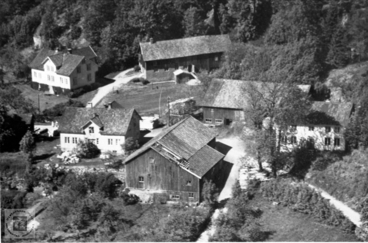 Ytregarden Usland i Øyslebø.
