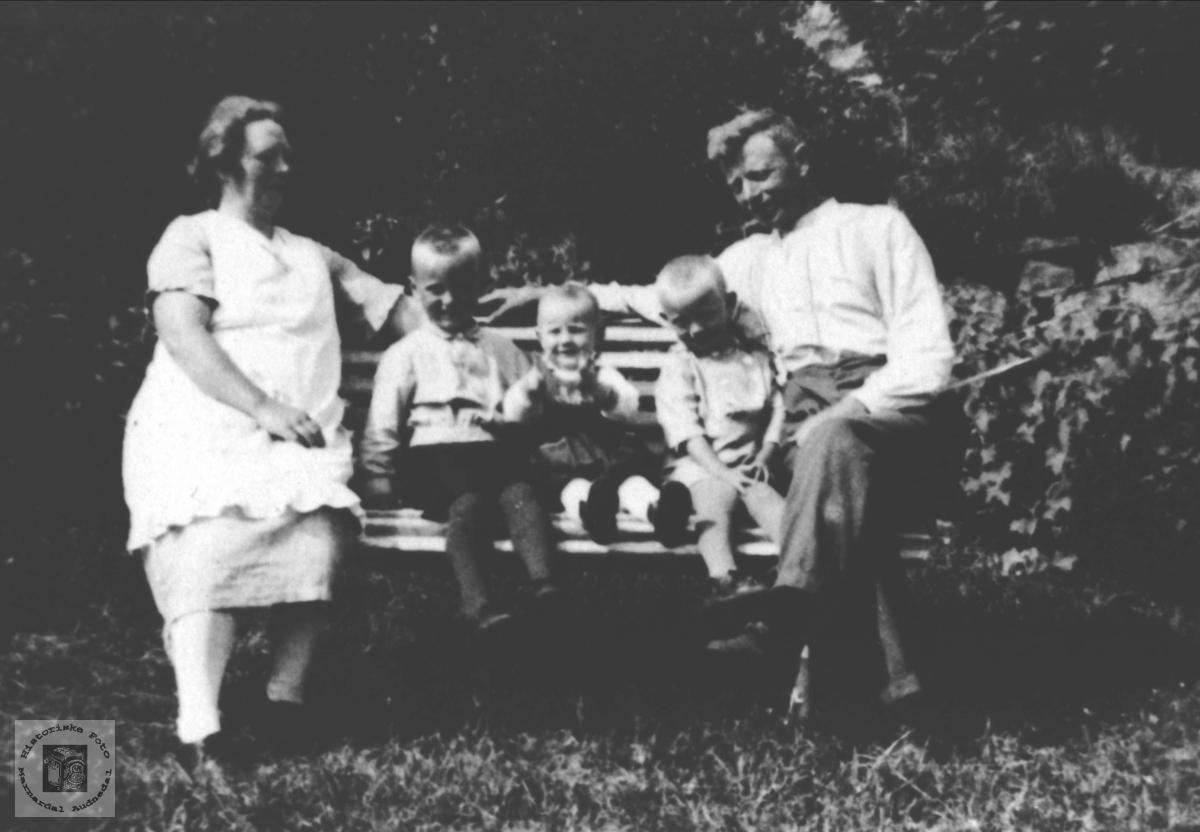 Familiegruppe Birkeland, Øyslebø.