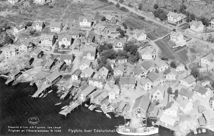 """Enligt AB Flygtrafik Bengtsfors: """"Edshultshall Bohuslän""""."""