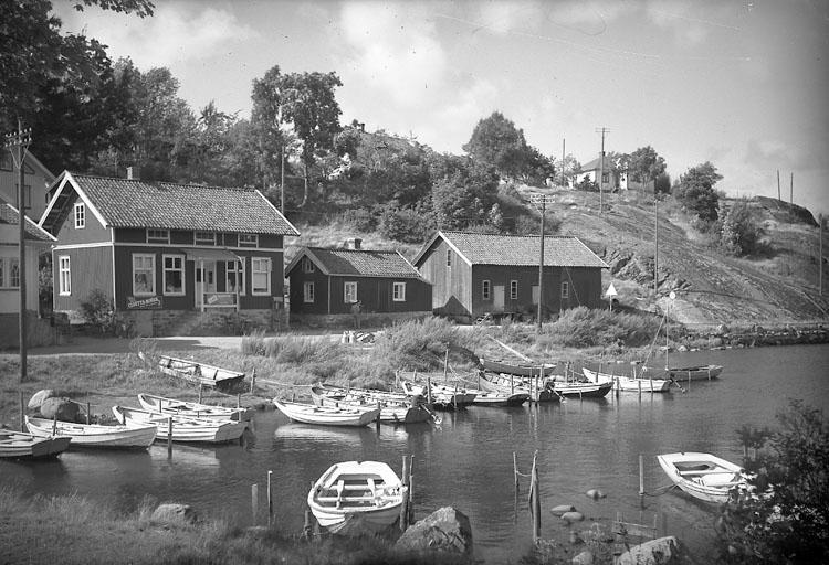 """Enligt AB Flygtrafik Bengtsfors: """"Slussen Bohuslän""""."""