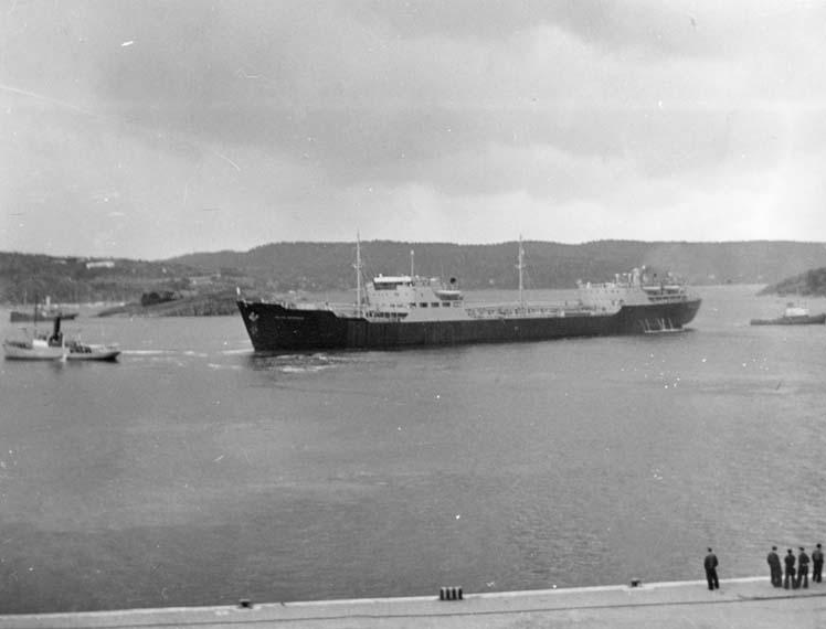 Provtur med fartyg 113 M/T Islas Georgias.