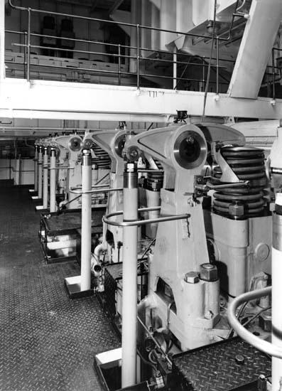 Interiör från fartyg 120 M/T Bittencourt Sampaio.