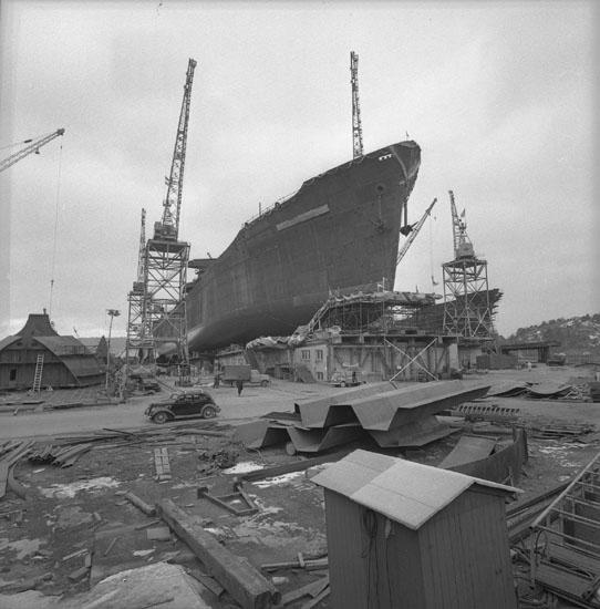 Dop och sjösättning av fartyg 182 T/T Gulf Hollander.