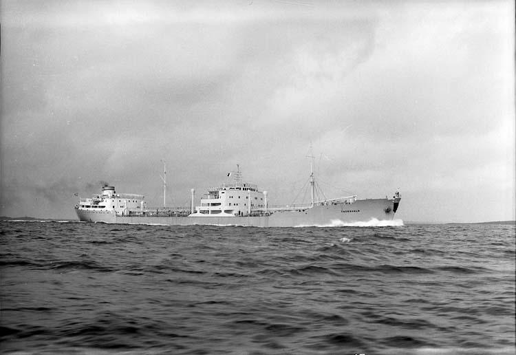 M/T Thorsholm DWT.18.840 Rederi A/S Thor Dahl, Sandefjord Norge Kölsträckning 53-12-16 Nr. 132 Leverans 54-06-30 Tankers