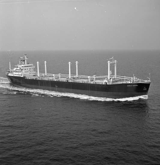 B/C Norse Variant DWT. 19.300 Rederi Odd Godager & Co., Oslo Norge Kölsträckning 64-04-30 Nr. 267 Leverans 65-03-24 Bulkfartyg