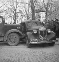 """Enligt notering: """"Skol- Lagerbergsgator sammanstötning bilar"""