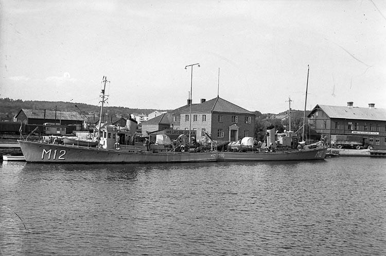 """Enligt notering: """"Minsvepare i Hamnen 20/8 1948""""."""